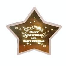 Kerstversiering Sfeer Verlichting Home Decoration Ambachten  Grootte: L (Star Type B)