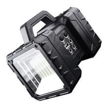 LED Multi-functie Draagbare Lamp Grote Schijnwerper Long Shot Dubbele Koplamp Zoeklicht  Stijl: Zonder zonnepaneel