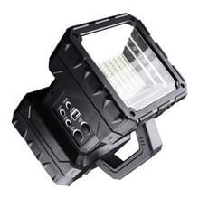 LED Multi-functie Draagbare Lamp Grote schijnwerper Long Shot Dubbele Koplamp Zoeklicht  Stijl: Met zonnepaneel