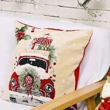 Kerstversiering Imitatie Gebreide kussensloop zonder pillow core (auto)