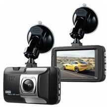 3 inch 120 graden groothoek Full HD 1080P video auto DVR  ondersteuning TF-kaart (niet inbegrepen)/infrarood nachtzicht/loop-opname