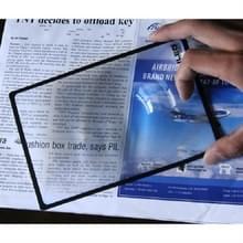 Kaart Slim lezen 3x Vergrootglas visitekaartje Vergrootglas  specificatie: 120 Ã 180mm