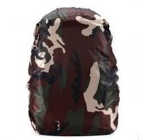 Waterdichte stofdichte rugzak regenhoes draagbare Ultralight outdoor tools wandelen beschermende cover 45L (camouflage)