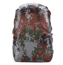Waterdichte stofdichte rugzak regenhoes draagbare Ultralight outdoor tools wandelen beschermende cover 45L (digitale camouflage)