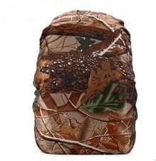 Waterdichte stofdichte rugzak regenhoes draagbare Ultralight outdoor tools wandelen beschermende cover 45L (Forest camouflage)
