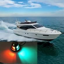 4W 12V IP65 waterdicht roestvrijstaal tweekleurig Marine signaallicht rode en groene LED-verlichting