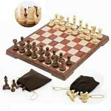 Houten vouwen schaakbord spel