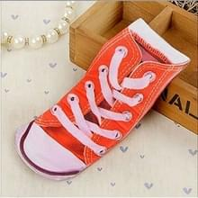 3Pairs 3D patroon korte gedrukte sokken cartoon Straight Dames zomer boot sokken (Plimsolls)