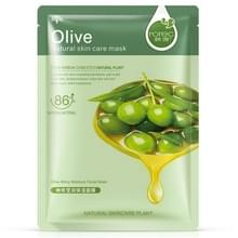 3 PC's Skin Care Plant gezichtsmasker hidratatie olie controle mee-eter Remover verpakt masker gezicht masker gezicht Care(Olive)