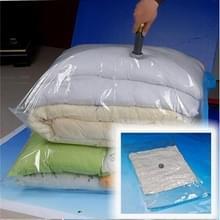 3 PC'S Hot Vacuum Bag opslag organisator transparante rand opvouwbare extra grote zegel gecomprimeerde reizen besparen ruimte zakken (40x60cm)