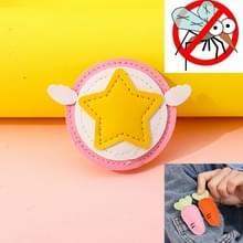 Muggenwerende gesp PU Anti-mug Clip voor kinderen volwassenen (Little Stars)