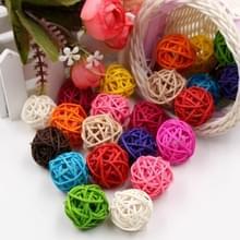 10 stuks kunstmatige stro bal voor Birthday Party bruiloft Kerstmis Home decor (gemengd)