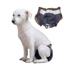 Anti-verdriet Vrouwelijke Hond Fysiologische Broek Urine-proof en natte huisdier lek-proof ondergoed  maat: L