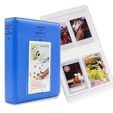 64 zakken naam kaart stukken voor Fujifilm Instax Mini 8/7s/70/25/50s/90 (blauw)