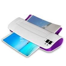 SOONye YE289 professionele thermische kantoor hete koude laminator machine voor A4 document foto blister verpakking plastic film Roll laminator