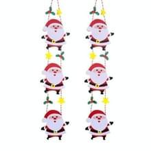 4 PCS Kerstladder Ouderen Kerstboom Pop Hanger Eerste Kerstdag Decoraties