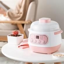 Huishouden Multi-functionele Automatische Gezondheid Stew Pot Pot Rice Cooker  3-Pins CN Plug (Roze)
