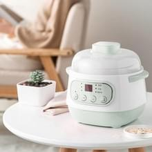 Huishouden Multi-functionele Automatische Gezondheid Stew Pot Pot Rice Cooker  3-Pins CN Plug (Groen)