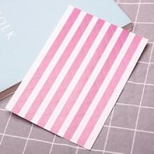 Les boek Hoekbeschermer foto scrapbook album fotolijstjes decoratieve hoek sticker (paars op wit)