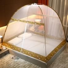 Gratis installatie van Yurt Double Door Encryption Verdikte Klamboe  Grootte:120x200 cm (Zoo-gamma)