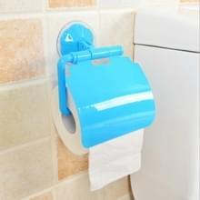 2 stuks kleurrijke waterdichte kunststof toilet badkamer keuken muur gemonteerde Roll papier houder vervoerder huis decoratie tools (blauw)