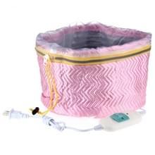 SPA voedende haarverzorging Cap thermische behandeling schoonheid Steamer (roze)