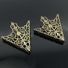 Kroon opengewerkte kraag Buckle Vintage kraag klem jewelry(Ancient Bronze)