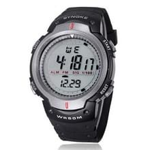 SYNOKE 61576 leven waterdichte LED sport horloge voor Men(Gray)