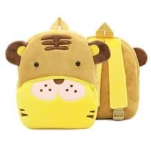 Kinderen 3D dier fluwelen rugzakken kinderen cartoon kleuterschool speelgoed geschenken school tassen (tijger)