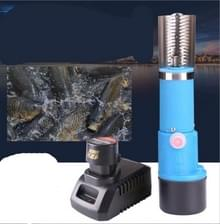 Waterdichte elektrische oplaadbare handheld schrapen vis gereedschap 220V/110V  grootte: 2 batterij 1 lader