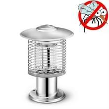 Outdoor Courtyard Garden Waterproof Outdoor Mosquito Insectenwerend middel lamp  kleur: 388Q Zilver