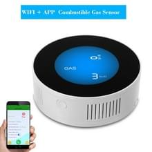 Draadloze gas detector alarm lekkage sensor aardgas lek detector (WiFi on-site alarm + APP controle)