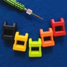 4 STKS schroevendraaier plus Magnetizer Demagnetizer Degaussing Punch willekeurige kleur levering