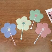 10 PCS Cartoon Summer Hand Fan Plastic Portable Handheld Cool Fan  Kleur: Random Color Delivery (533B)