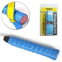 Dubbellaags zweet-absorberend anti-slip tape voor badminton racket/hengel  willekeurige kleur levering (110 x 2 5 cm)