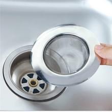 2 stks roestvrijstalen badkuip haar catcher stopper douche afvoer gat filter metalen wastafel zeef