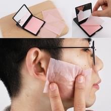 5 PCS draagbare gezicht blotting papier make-up spiegel schoonmaken Beauty tools