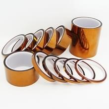 Hoge temperatuur hittebestendig tape thermische isolatietape polyimide zelfklevende isolerende zelfklevende 3D Printing Board bescherming tape (8mm)