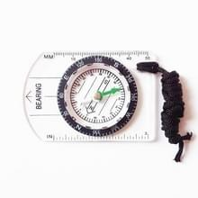 Professionele mini kompas kaartschaal liniaal multifunctionele apparatuur buiten wandelen camping Survival