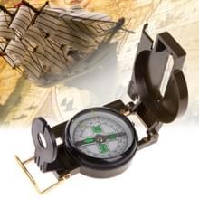 Portable opvouwbare Army Green lens kompas multifunctionele Mini Camping klimmen buiten gereedschap