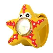 10ST 3D Cartoon horloge voor kinderen (zeesterren)