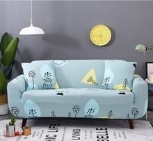 Sofa covers all-inclusive slip-resistente sectionele elastische volledige Bank cover sofa cover en kussensloop  specificatie: drie stoel + 2 pc's kussensloop (Wishing Tree)