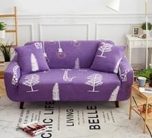 Sofa covers all-inclusive slip-resistente sectionele elastische volledige Bank cover sofa cover en kussensloop  specificatie: drie zits + 2 pc's kussensloop (Special thinking)