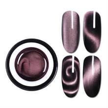 GEBOREN PRETTY Magic boxed plastic 5D kat eye lijm 3D verscheidenheid dubbele hoofd magneet Cat Eye lijm tweekleurige kat gel (BP-MSS04)