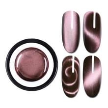 GEBOREN PRETTY Magic boxed plastic 5D kat eye lijm 3D verscheidenheid dubbele hoofd magneet Cat Eye lijm tweekleurige kat gel (BP-MSS06)