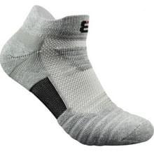 3 paren mannen buiten Running basketbal sokken boot sokken (grijs)