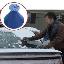 2 PC's auto magische venster voorruit auto ijs krabber vormige trechter sneeuw Remover Ijsbestrijder Cone strooizout Tool schrapen