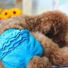 Huisdier hond panty korte sanitaire broek kleding huisdier benodigdheden  grootte: XS (blauw)