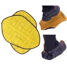 1 paar stap in hands free Shoe Cover (geel)