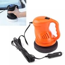 Elektrische auto polijst machine waxen Polijstmachines Kit automatisering schoonmaken auto Buffing ABS auto accessoires  kleur: oranje